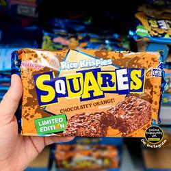 Kelloggs Squares Chocolatey Orange