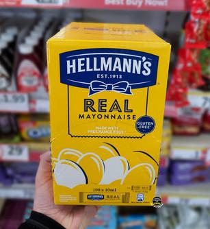 Hellmann's Mayonnaise 198 Satchet Box.jp