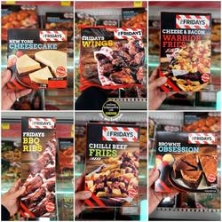 TGI Fridays Food Range at Iceland
