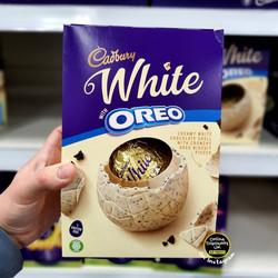Cadbury White Oreo Easter Egg