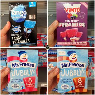 Tango Blue Raspberry & Vimto Pyramids Ic