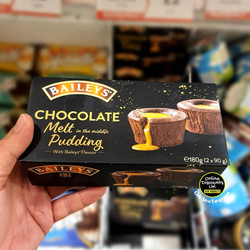 Baileys Chocolate Melt in the middle Pud