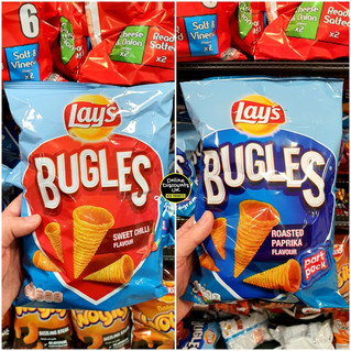 Lays Bugles Sweet Chilli and Roasted Pap