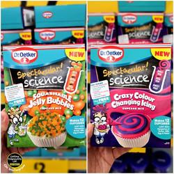 Dr.Oetker Spectacular Science Cupcake Kits