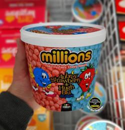 Millions Chewy Sweets Ice Cream Tub