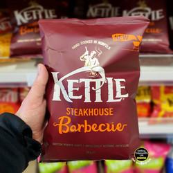 Kettle Steakhouse Barbecue Crisps