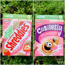 Shreddies Strawberries & Cream and Curio