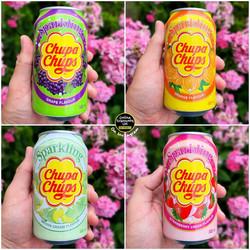 Chupa Chups Sparkling Cans