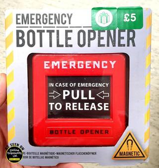 Emergency Bottle Opener Stocking Filler.
