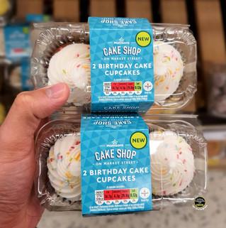 Morrisons Two Birthday Cake Cupcakes.jpg