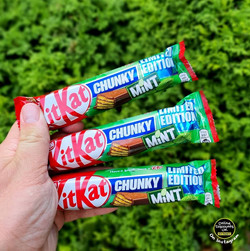 Limited Edition KitKat Chunky Mint