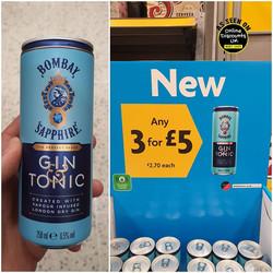 Bombay Sapphire Gin & Tonic Premixed Can