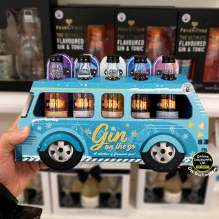 Gin Bus on the Go Selection of Flavoured