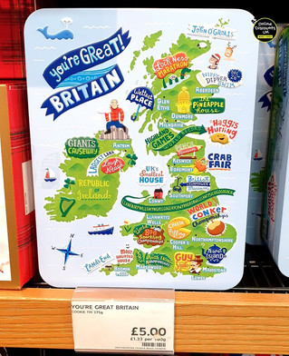 'You're Great Britain' all butter biscui