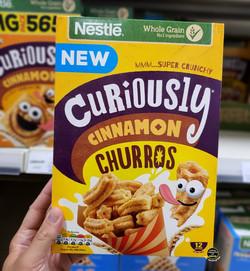 Curiously Cinnamon Churros Breakfast Cer