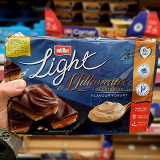 Muller Light Millionaire Shortbread Yogu
