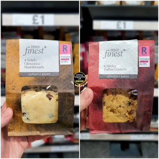 Tesco Finest Sticky Toffee Cookies and T