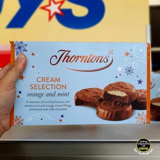 Thorntons Orange and Mint Cream Selectio
