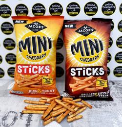 Mini Cheddars Sticks
