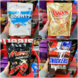 Bounty, Mars, Twix and Snickers Travel B