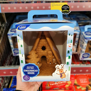 Aldi Decorate Your Own Gingerbread House
