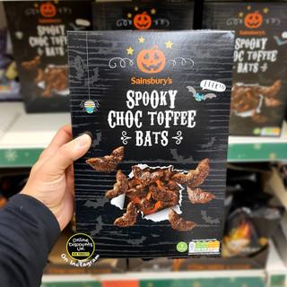 Sainsburys Spooky Choc Toffee Bats Break