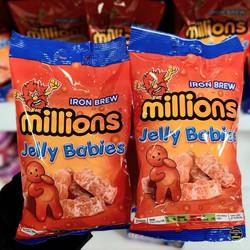 Millions Jelly Babies Iron Brew