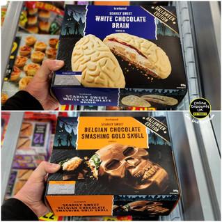 Iceland White Chocolate Brain and Belgia
