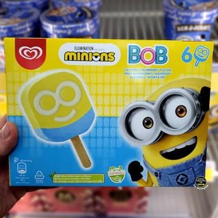 Minions Caramel & Blueberry Ice Creams.j