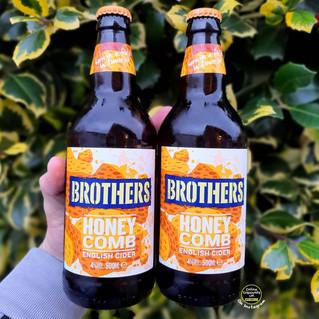 Brothers Honeycomb English Cider.jpg