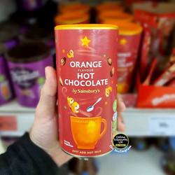 Sainsburys Orange Hot Chocolate