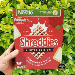Shreddies Raspberry & White Chocolate Br