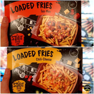 Lidl Chilli-Cheese Loaded Fries and Tex-