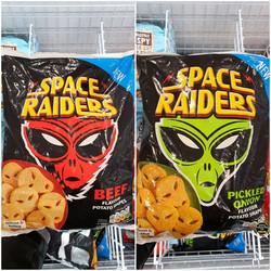 Space Raiders Potato Oven Beef and Pickl