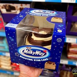 Milky Way Shooting Star Cake