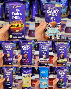B&M Cadbury Chocolate Australian Import