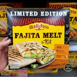 Old El Paso Fajita Melt The Kit