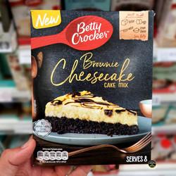 Betty Crocker Brownie Cheesecake Mix