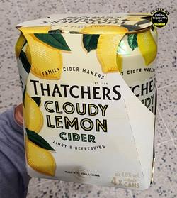 Thatchers Cloudy Lemon Cider