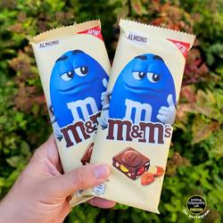 MM's Almond Chocolate Bars