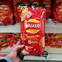 Walkers Flamin Hot Crisps
