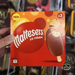 Maltesers Orange Ice Creams