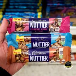 Cadbury Nuttier Bar Range