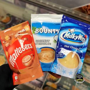 Maltesers, Bounty & Milky Way Hot Chocol