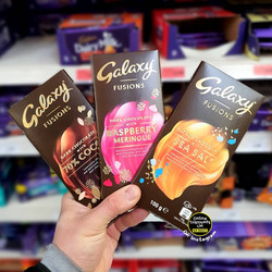 Galaxy Fusions Chocolate Bar Range