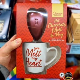 Aldi Hot Chocolate Melt & Mug Valentines