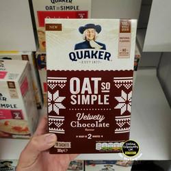 Quaker Oat so Simple Velvety Chocolate