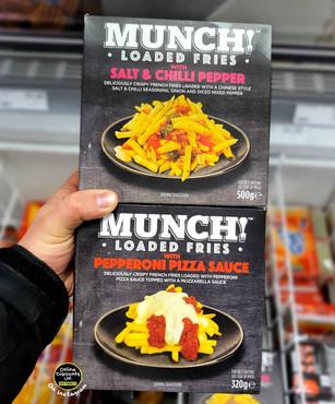 Munch Loaded Fries Salt & Chilli Pepper