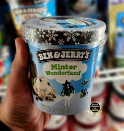 Ben & Jerry's Minter Wonderland Ice Crea