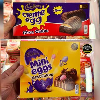 Cadbury Creme Egg Choc Cakes & Mini Eggs